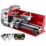 VEVOR Metalldrehmaschine 8X16 Zoll Präzisions-Minidrehmaschine mit variabler Drehzahl 50-2500 U/min...