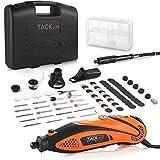 Multifunktionswerkzeug, Tacklife Drehwerkzeug, einstellbare Drehzahl mit 80 Zubehör und 4...