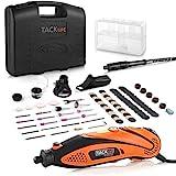Multifunktionswerkzeug, Tacklife RTD35ACL Advanced Drehwerkzeug mit 80 Zubehör und 4 Aufsätze zum...