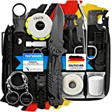 Jungle Monkey Survival Kit Premium Set mit Messer & Taschenlampe, Survival Ausrüstung Set für...