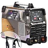 STAHLWERK AC/DC WIG 200 Puls D IGBT Chrom, digitales Schweißgerät mit 200 Ampere WIG & MMA,...
