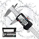 Messschieber Digital Schieblehre, Orthland 150mm Hochpräzise Elektronische Edelstahl Meßschieber...