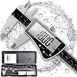 VIGRUE Messschieber Digitale Schieblehre 150mm, Edelstahl Messlehre Messwerkzeuge mit Hoch...