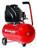 Einhell Kompressor TH-AC 200/40 OF (1,1 kW, 40 L, Ansaugleistung 140 l /min, 8 bar, ölfrei, große...