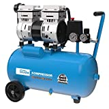 Güde 50136 Kompressor Airpower 150/8/24 Silent (Doppelkolbenaggregat Direktgetrieben, 0,75 kW,...