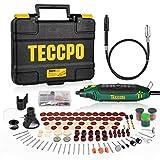 Multifunktionswerkzeug, TECCPO 10000-35000 RPM 135W Drehwerkzeug, mit 114 Zubehörteilen,...