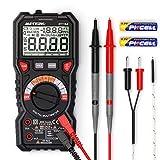 Digital Multimeter, Meterk Strommessgerät, Schnell und genau Auto-Range mit 6000 Counts,...