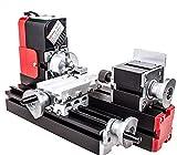 Motorisierte Mini Metallbearbeitung Drehmaschine Schleifmaschine Heimwerkerutensilien Metall...