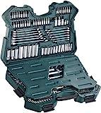 Brüder Mannesmann M98430 Steckschlüsselsatz 0,6 cm (0,25 Zoll) + 0,95 cm (3/8 Zoll) + 1,27 cm /...