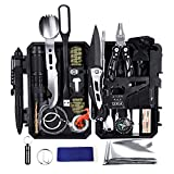 YEVHEV Outdoor Survival Kit 60 in 1,Multifunktional Outdoor Kit mit...