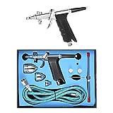 KKmoon professionelle Double-Action Mehrzweck Gravity Feed Spritzpistole Airbrush Triggersatz mit...