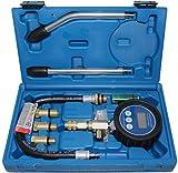 BGS 8980 | Digital-Kompressionstester für Benzinmotoren | 7-tlg. | Kompressionsprüfer-Satz |...