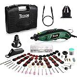 Multifunktionswerkzeug, TECCPO 170W Drehwerkzeugsatz mit 80 Zubehör, Schnellspannbohrfutter,...