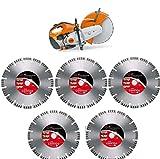 Stihl TS 420 Motortrenner incl 5x ADT Diamant-Trennscheiben