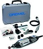 Dremel Platin Edition 4000 Multifunktionswerkzeug 175W, Set mit 4 Vorsatzgeräten, 65...