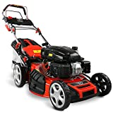 HECHT 5-IN-1 Benzin Rasenmäher – leistungsstarker 4 Takt Eco Motor 4,4 kW (6,0 PS) –...