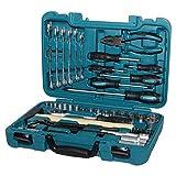 HYUNDAI Werkzeugset K56 (56-teiliger Werkzeugkasten aus Cr-V-Stahl, 72-Zahn Umschaltknarren, SUPER...
