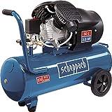 Scheppach Kompressor HC53DC (2200 Watt, 50 L, 10 bar, Ansaugleistung 412L/min, Druckminderer,...