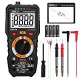 Digital Multimeter, Tacklife DM01M Advanced Multimeter mit 6000 Counts, True RMS, Temperaturmessung,...