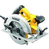 DeWalt 1.600 W Handkreissäge (max. Schnitttiefe 67 mm, für Ablängarbeiten oder Quer- und...