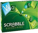 Mattel Games Y9598 - Scrabble Original Wörterspiel und Brettspiel geeignet für 2 - 4 Spieler,...