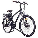 "NCM Hamburg E-Bike City Rad, 250W, 36V 13Ah 468Wh Akku, 28"" Zoll (28' Schwarz)"