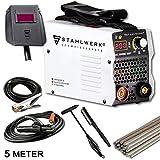 STAHLWERK ARC 200 MD IGBT - Schweißgerät DC MMA/E-Hand Welder mit echten 200 Ampere sehr kompakt,...