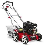 HECHT Benzin-Vertikutierer 5676 Rasen-Lüfter Motorvertikutierer (3,3 kW (4,5 PS), 40 cm...