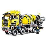 toy Bausteinmontage für Kinder, Zementmischer, Truck, Puzzle, groß, Engineering Transport Truck,...