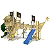 WICKEY Klettergerüst Prime NeverLand Gold Edition - Spielturm mit Turborutsche