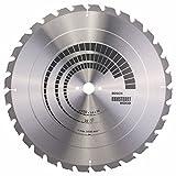 Bosch Professional Kreissägeblatt Construct Wood (Holz, 450 x 30 x 3,8 mm, 32 Zähne, Zubehör...