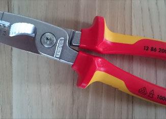Knipex Installationszange Beitragsbild