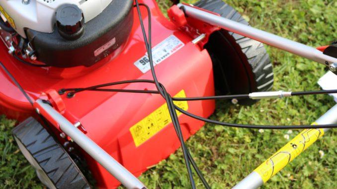 Hecht 5484 SX Test Benzin Rasenmäher