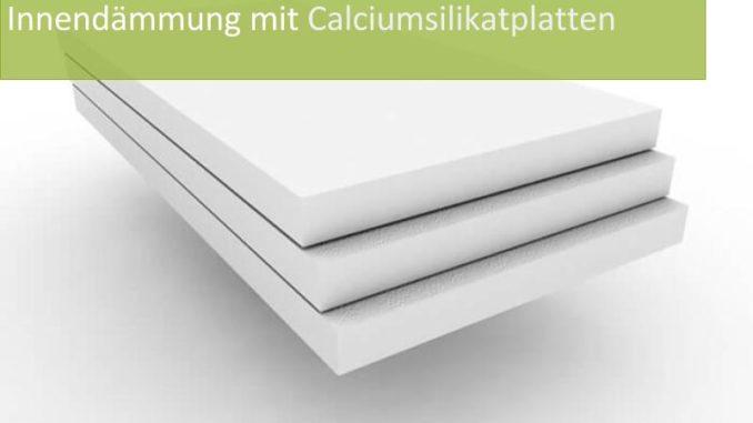 Innendämmung mit Calciumsilikatplatten