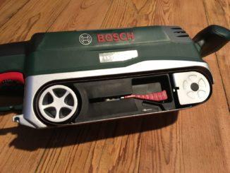 Bosch PBS 75 AE Bandschleifer Test