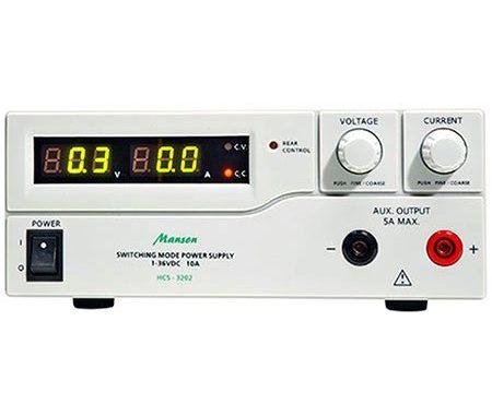 Labornetzgerät HCS-3202-für-carrera-bahn