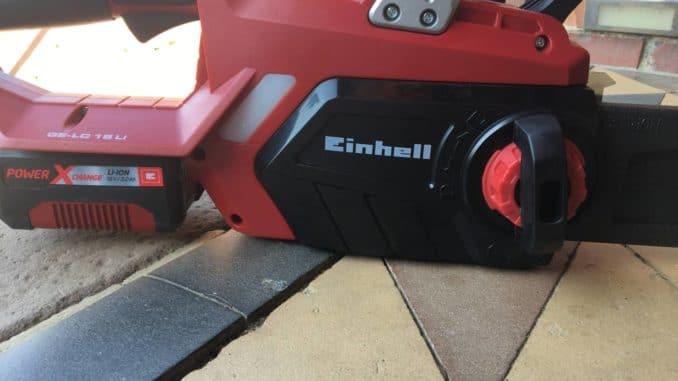 Einhell-Akku-Kettensäge GE-LC 18