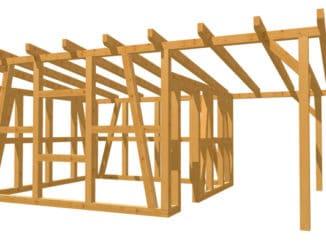 Bauplan Gartenhaus