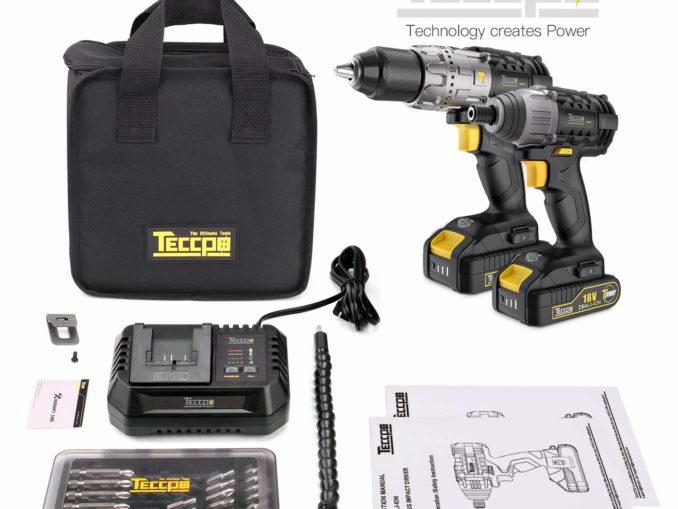 TECCPO Akkuschrauber Set