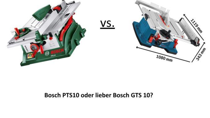 Bevorzugt Bosch GTS 10 vs. Bosch PTS 10 2019 🥇 - die beste Bosch NY11