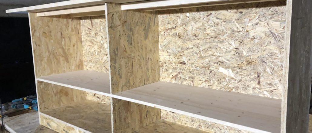 Berühmt Schrank selber bauen – wir bauen einen Schrank 2019 JF02