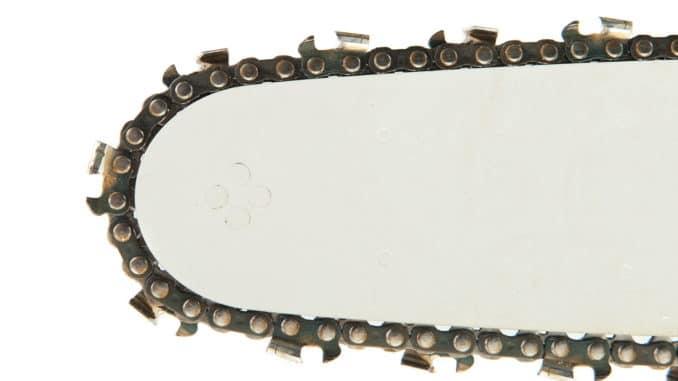 Kettensägen-Kette für Sägekettenschärfgerät Bild