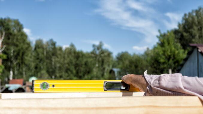 Werkzeug für den Carportbau